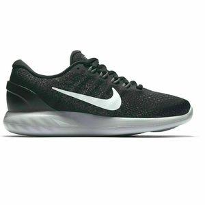 Women's Nike LunarGlide Black Running Shoes Size 8